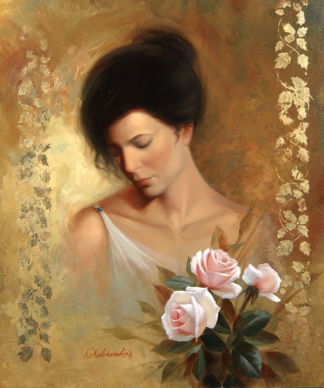 LADY AND ROSES