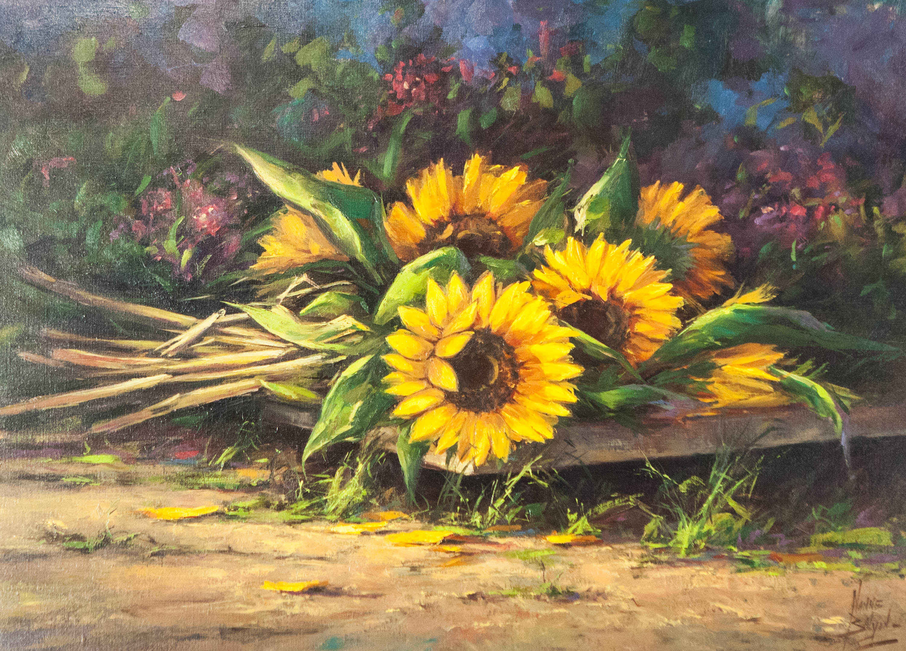 STILL LIFE W/ SUNFLOWERS