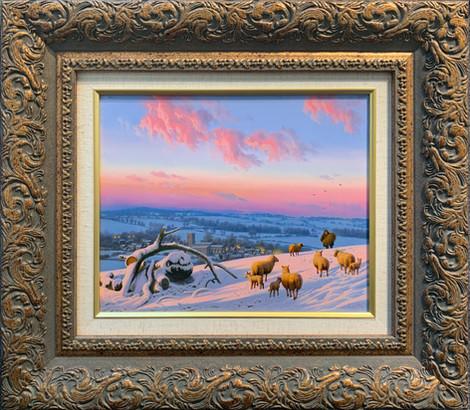 """""""Winter Sunset on Everon Hills"""""""