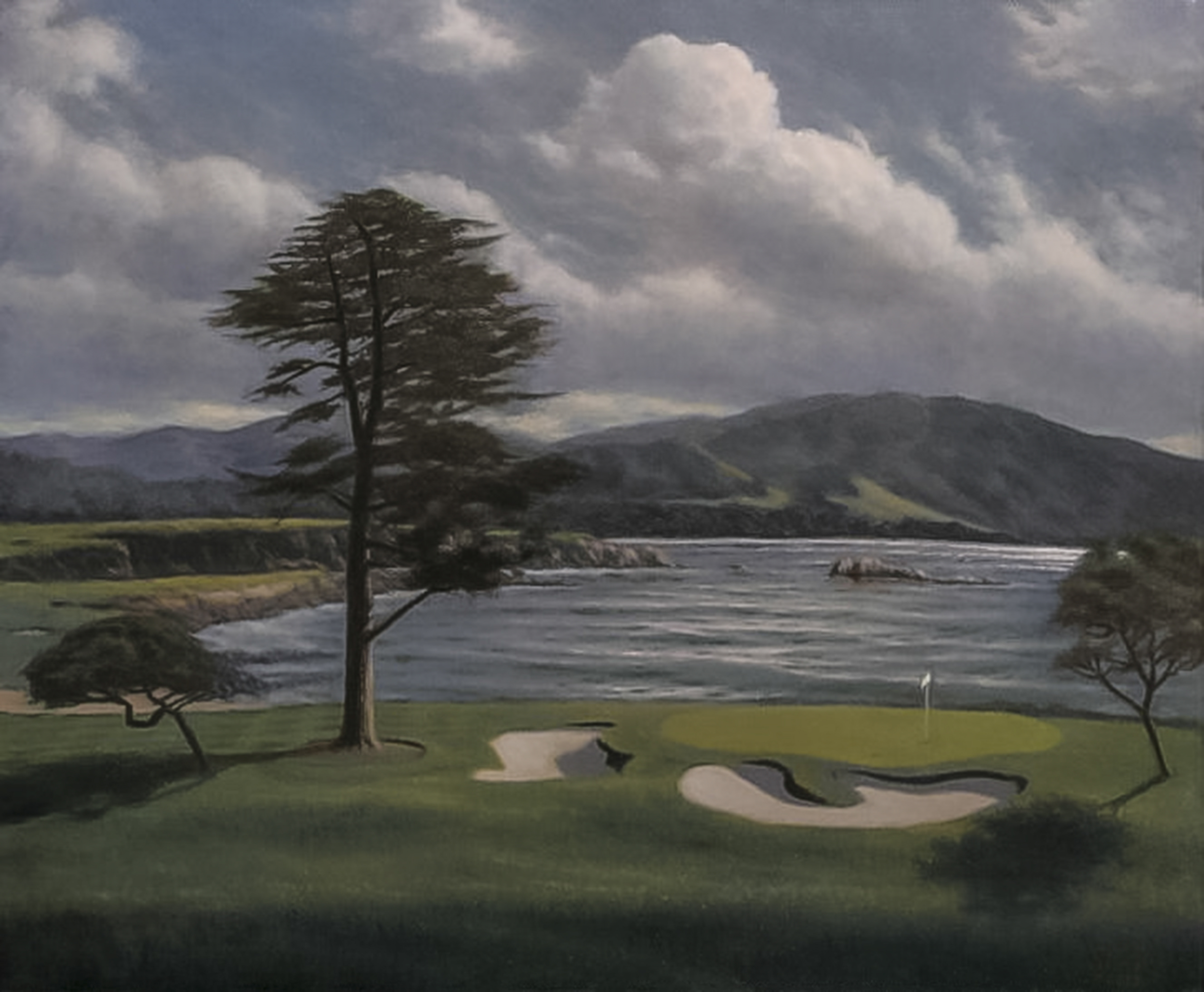 18th at pebble beach20x2413A