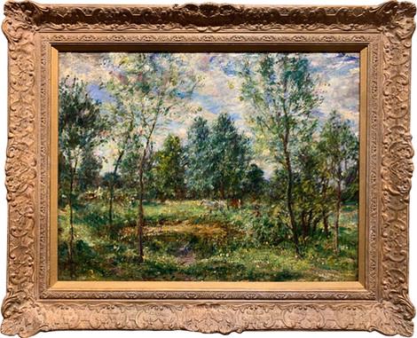 """The Pond at Hatfield Heath"""