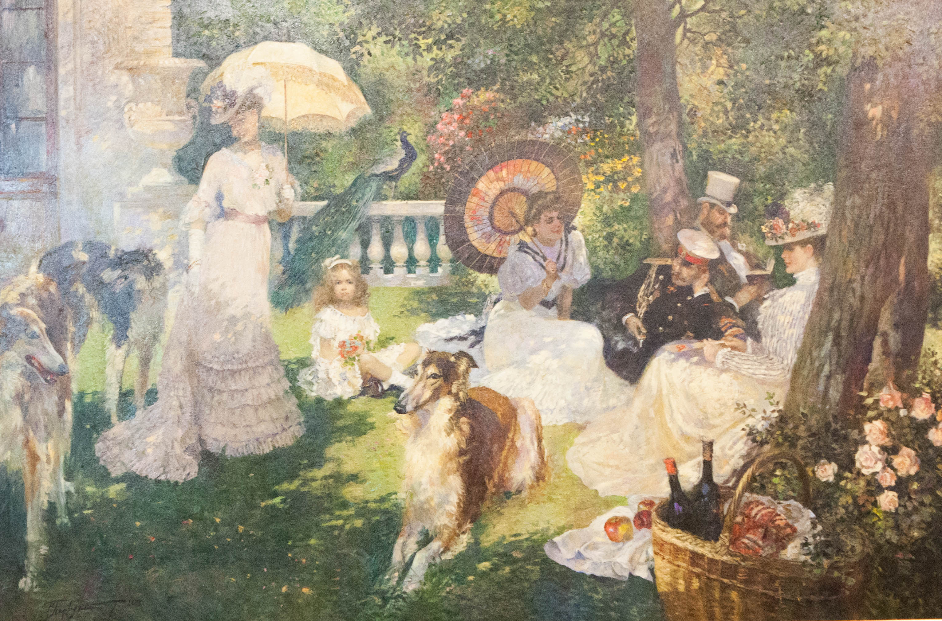 PICNIC ON THE TERRACE