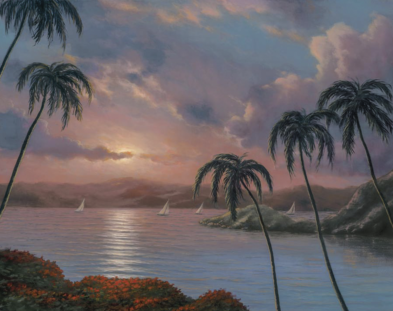 Sunset Paradise22x2804