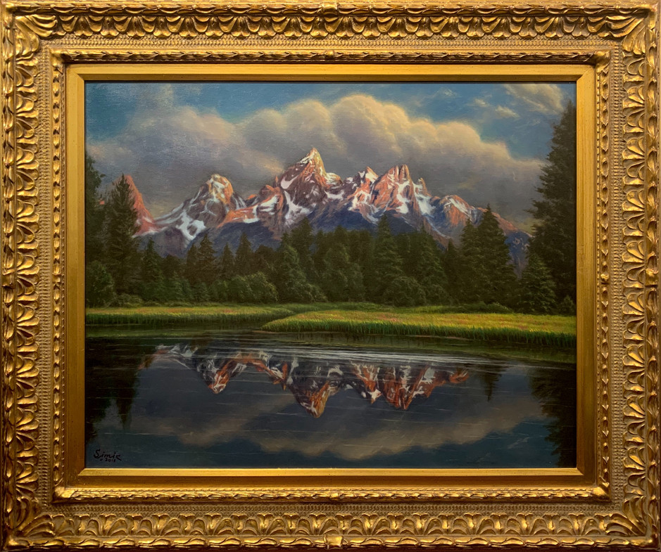 """Grand Tetons Splendor"""