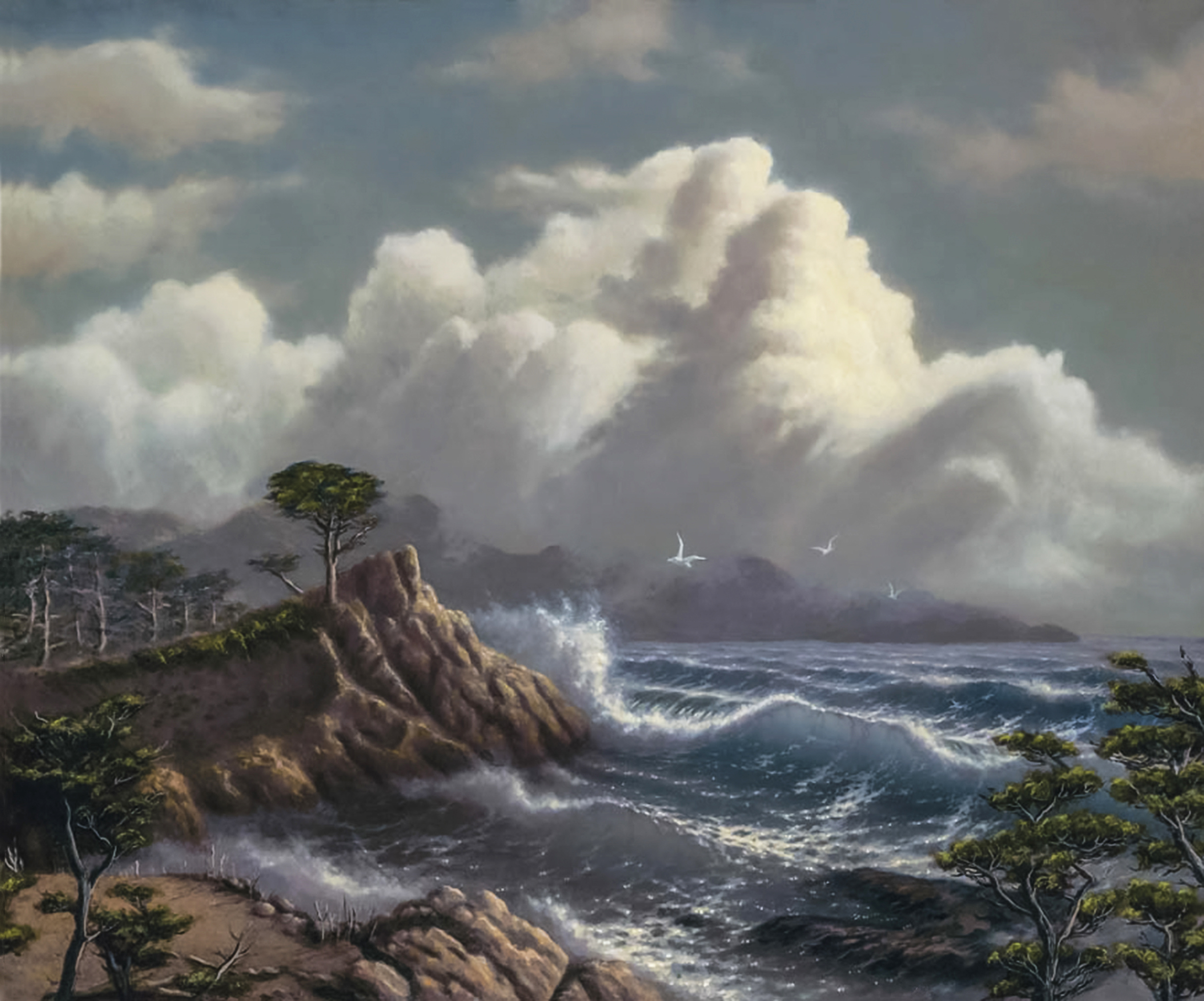 Cypress Glory 24x3096