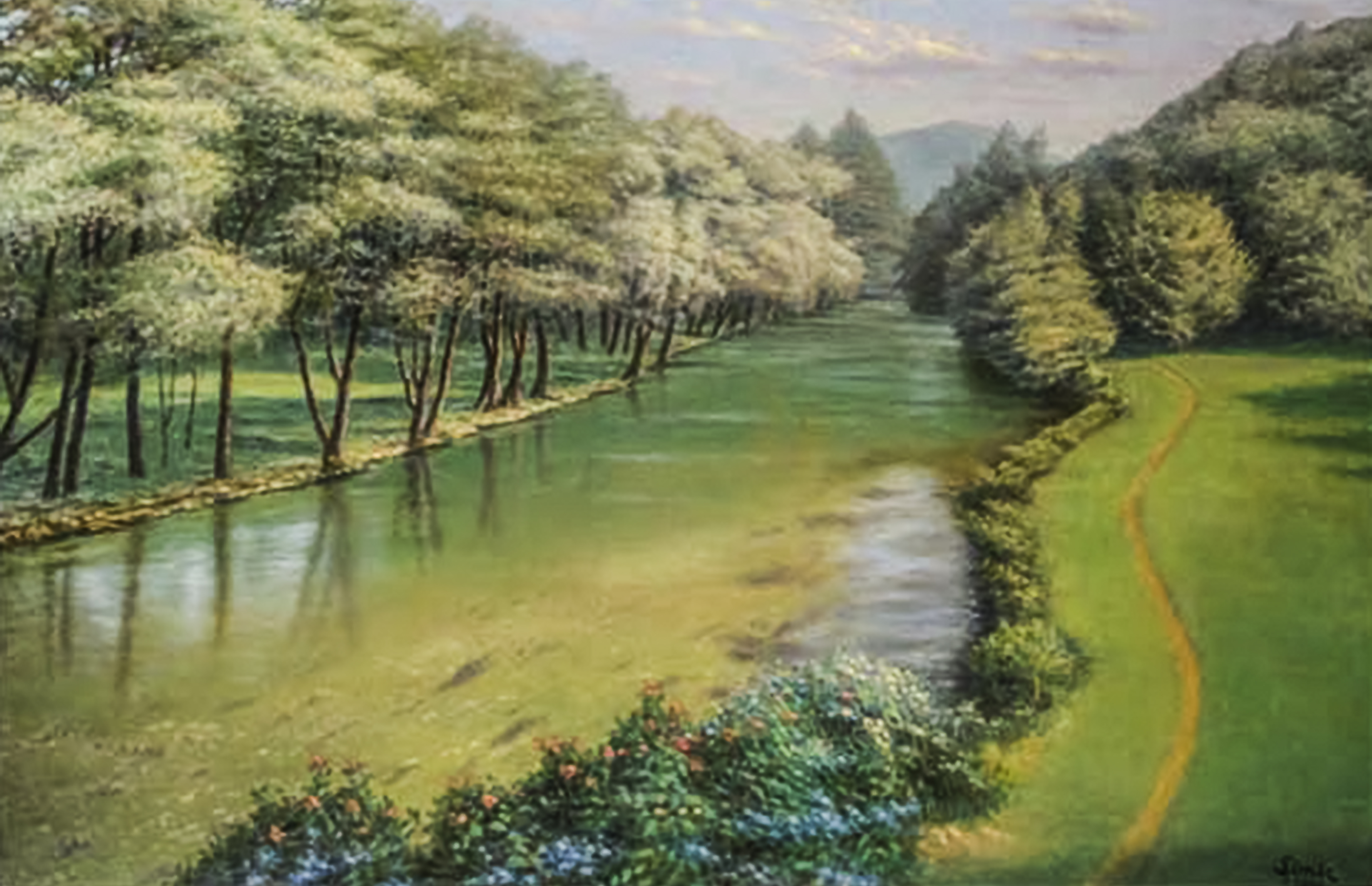 Dream River 24x36
