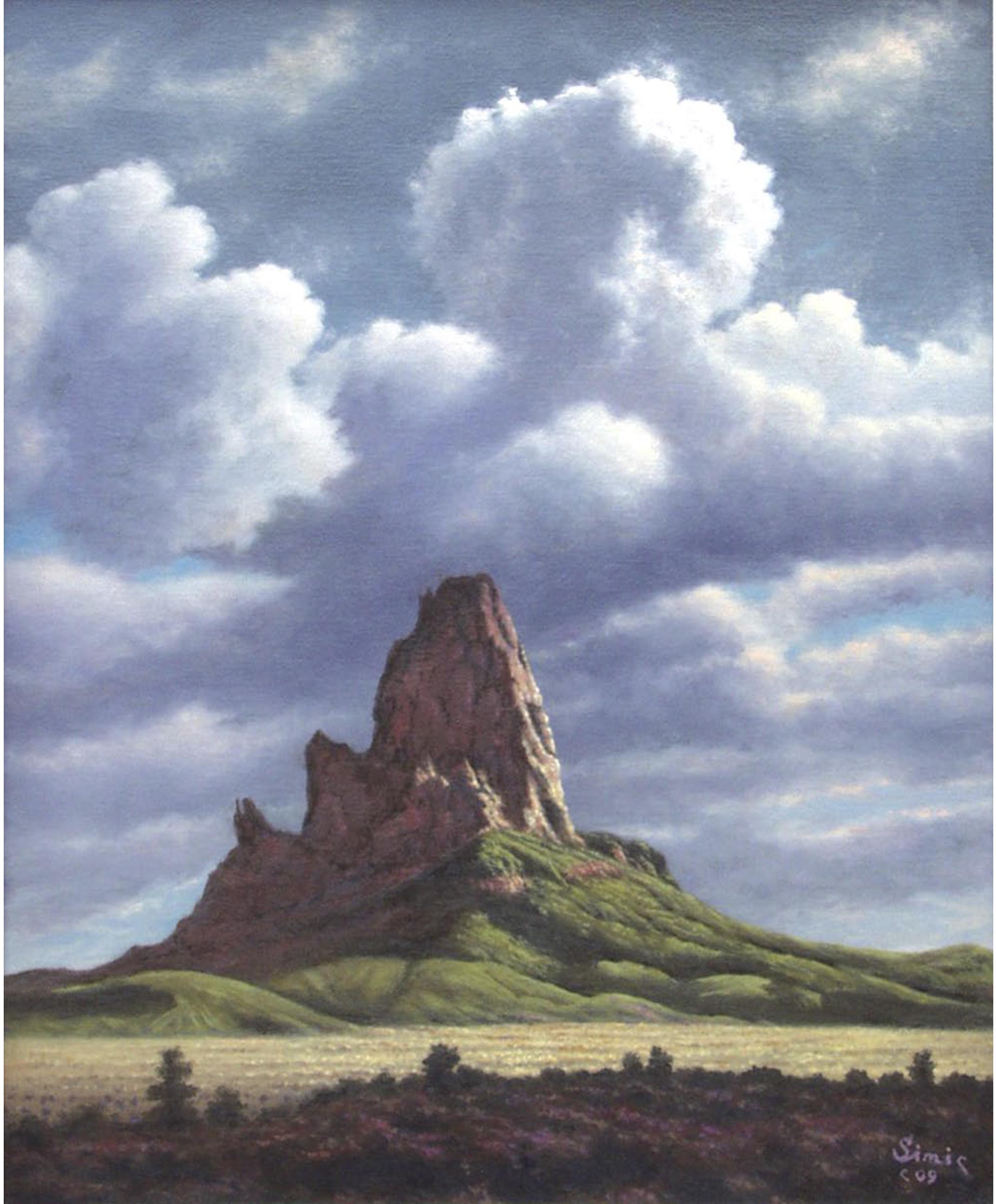 Desert Sculpture20x1609A
