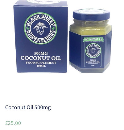 Coconut oil 500mg