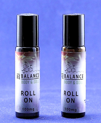 CBD Roll On 100mg 10ml