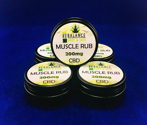 Muscle Rub CBD
