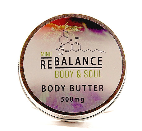 Body Butter 500mg CBD 100ml