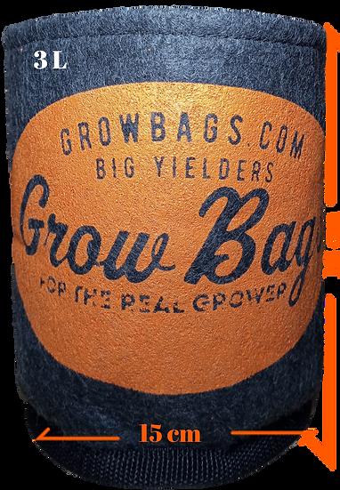 Maceta 3 L Geotextil Grow Bags