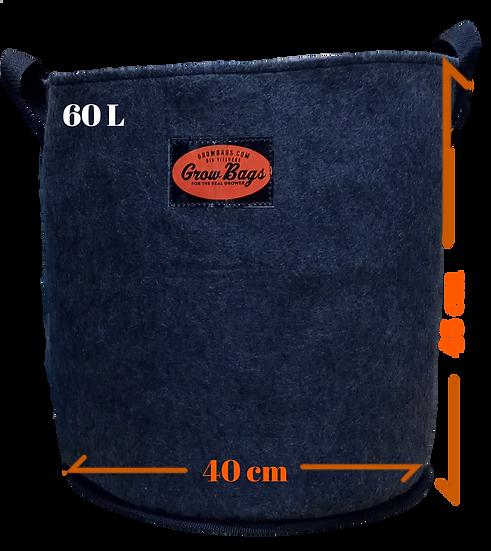 Maceta 60 L Geotextil Grow Bags