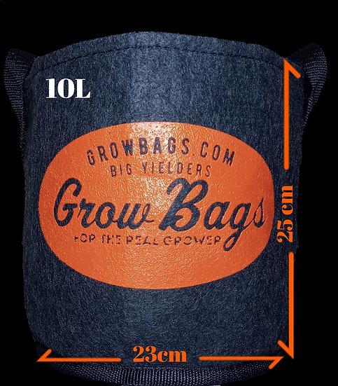 Maceta 9,55 Litros Geotextil Grow Bags