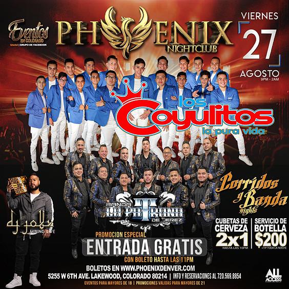 Corridos y Banda Night | Banda Los Coyulitos