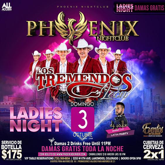 Ladies Night Norteño   Tremendos Leon