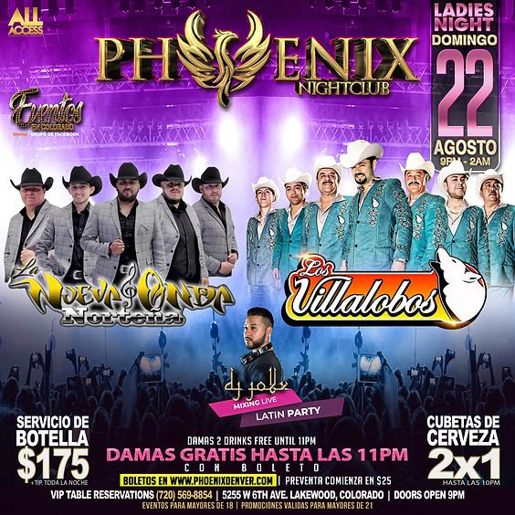 La Nueva Onda Y Los Villalobos | Ladies Night