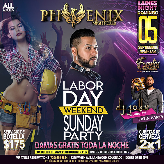 Labor Day Party   Ladies Night