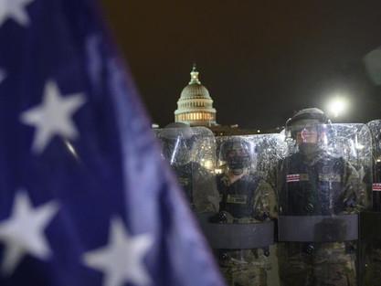 Waszyngton : przemoc na Kapitolu, śmierć czterech osób