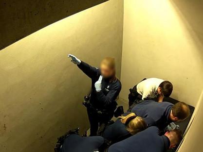 Pasażer zmarł po brutalnym aresztowaniu, na lotnisku Charleroi (wideo)