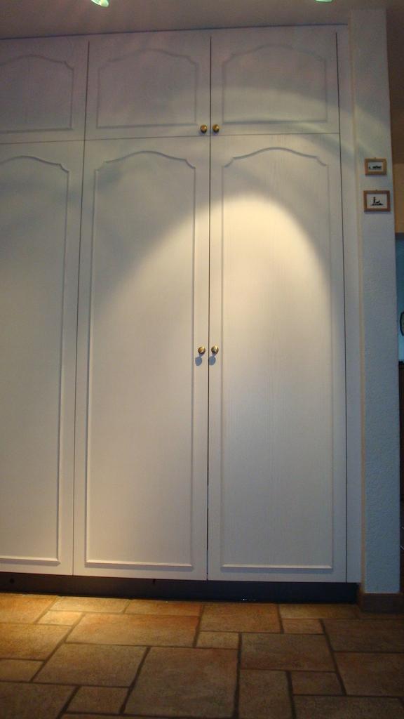 Armoire d'entrée frêne blanc 1