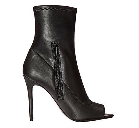 Elaine Ankle Zipper Boots