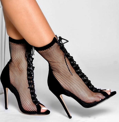 Lira Lace Up Ankle Boots