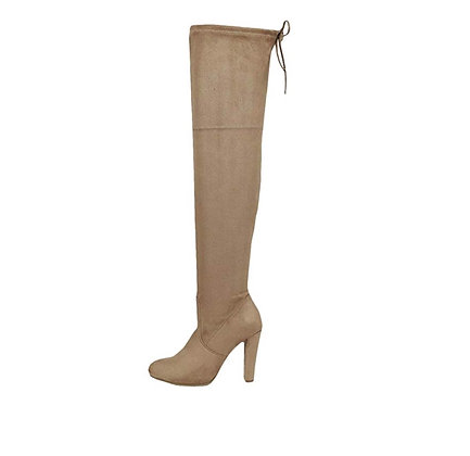Donna High Pull On Boot
