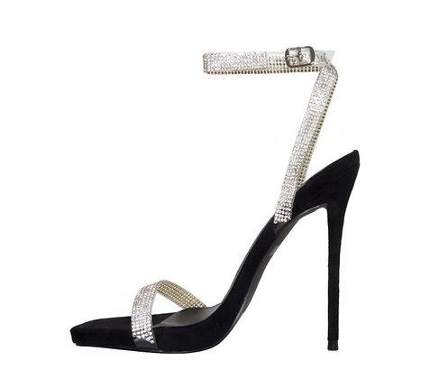 Laurel Diamante Heels