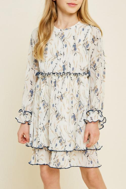 Pleated Babydoll Dress