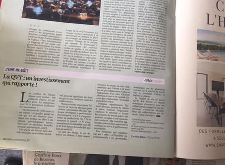 SYOW dans EcoRéseau Business : La QVT, un investissement qui rapporte !