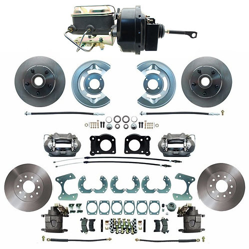 64.5-66 Mustang Front and Rear Power Disc Brake Conversion Kit