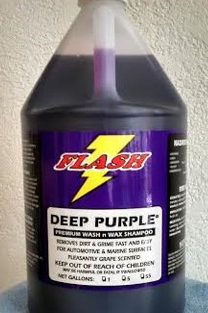 Flash - Deep Purple Car Wash and Wax Shampoo