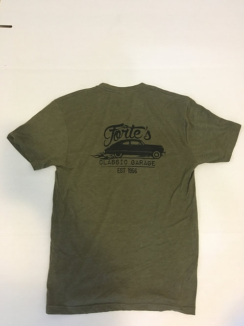 Forte's Classic Garage - T-Shirt - Hot Rod