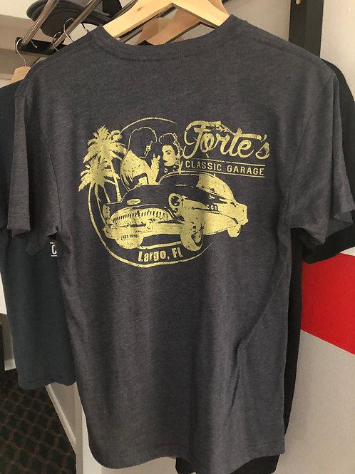 Forte's Classic Garage - 60 Year Anniversary T-Shirt