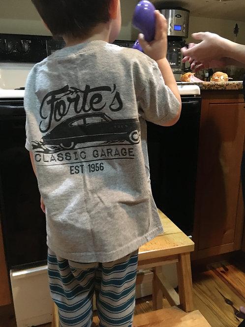 Forte's Classic Garage - Toddler T-Shirt