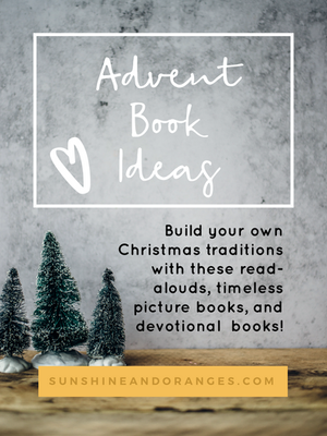 Advent Book Ideas | Picture Books, Read-Alouds, and more