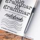 Grammar of Grammar Notebook Cover