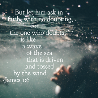 When life is like being tossed around in the waves...