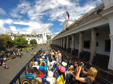 Quito Tour Bus Centro de Quito