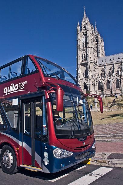 Iglesia Quit Tour Bus