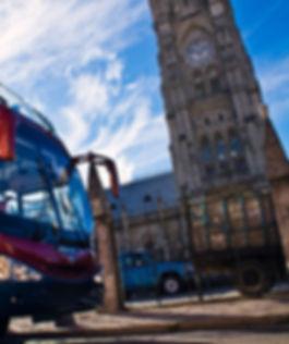 Quito Tour Bus Iglesia