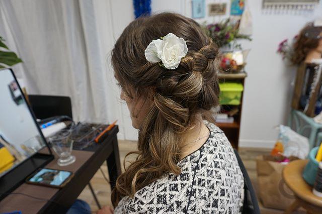 Coiffure mariage👌 _#wedding #hairstyle #weddingday #coiffure #mariage #coiffuremariage #madeinfran