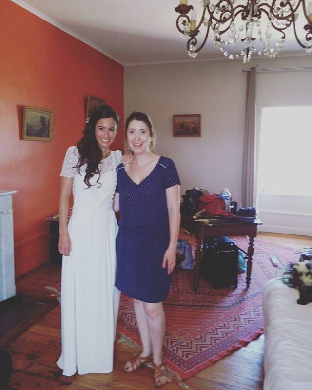 Ma magnifique mariée de cette après-midi !! #bride #weddinghairstyles  #weddinghair #weddingdress #w