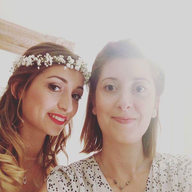 Selfie mariage avec Yael !_#coiffureprincesse #mariage #wedding #hairstyle #weddingday #coiffure #ma