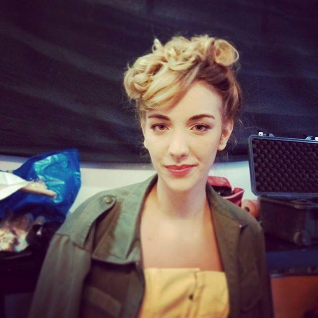 Une de mes modèles de ce matin !  #Shooting #shoot #annacruz #haircutmakeup #makeupartist #makeup #h