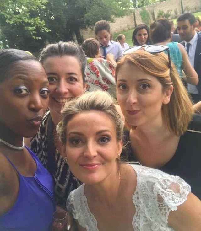 Souvenir souvenir avec les filles !_Patricia & Julien wedding 29 juillet 2017