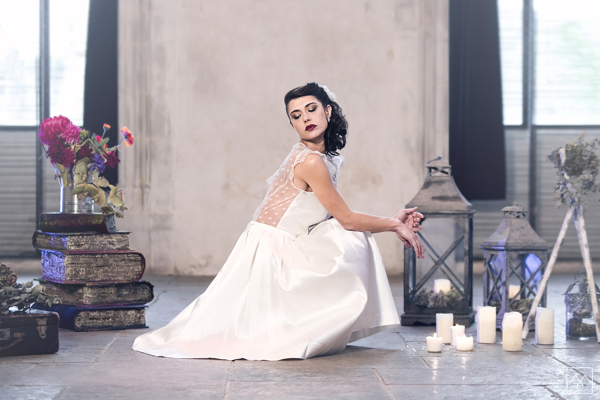 9 Anna Cruz Maquillage et coiffure mariage Lyon -shooting-inspiration-collection-2017