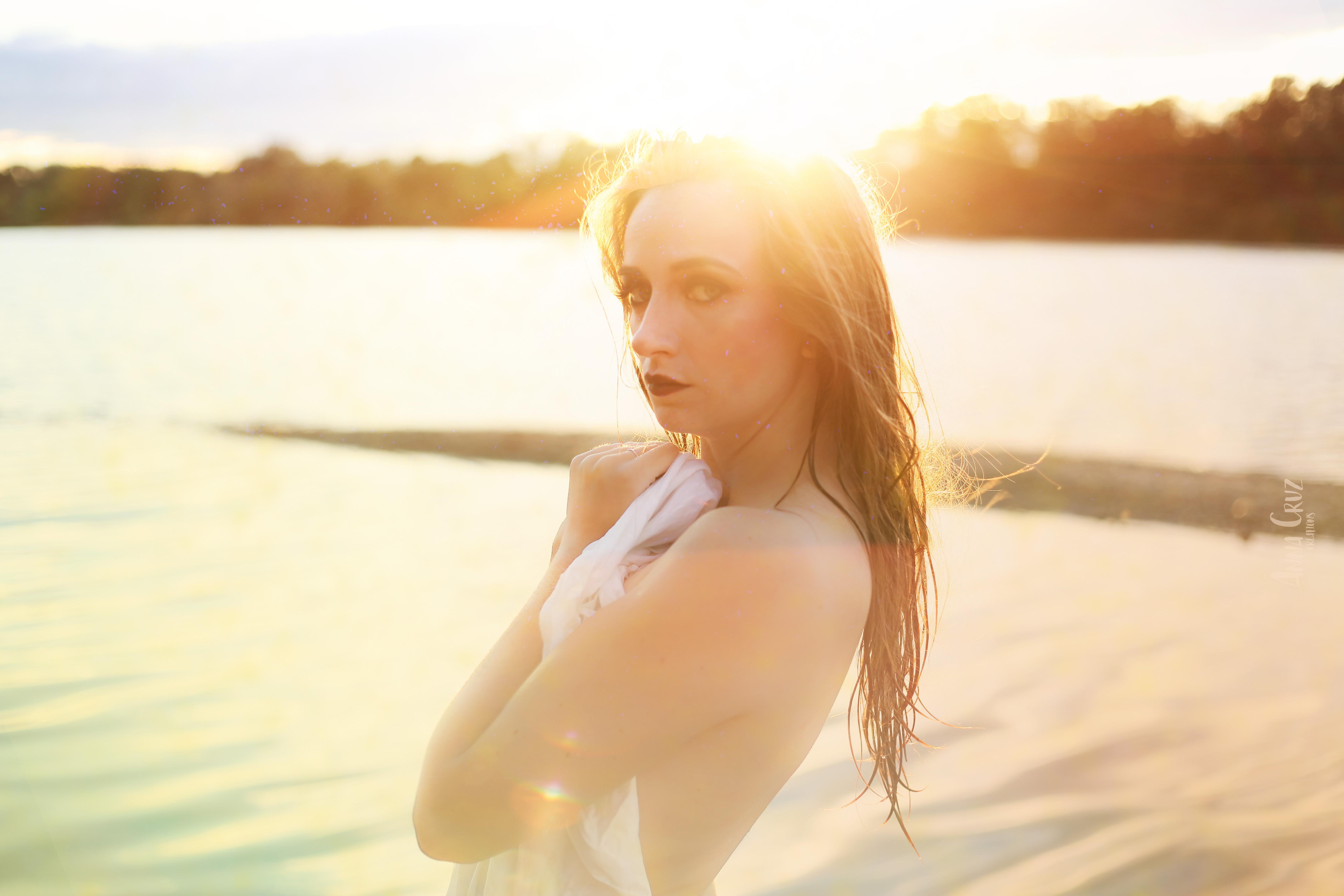 Portrait couché de soleil Anna Cruz