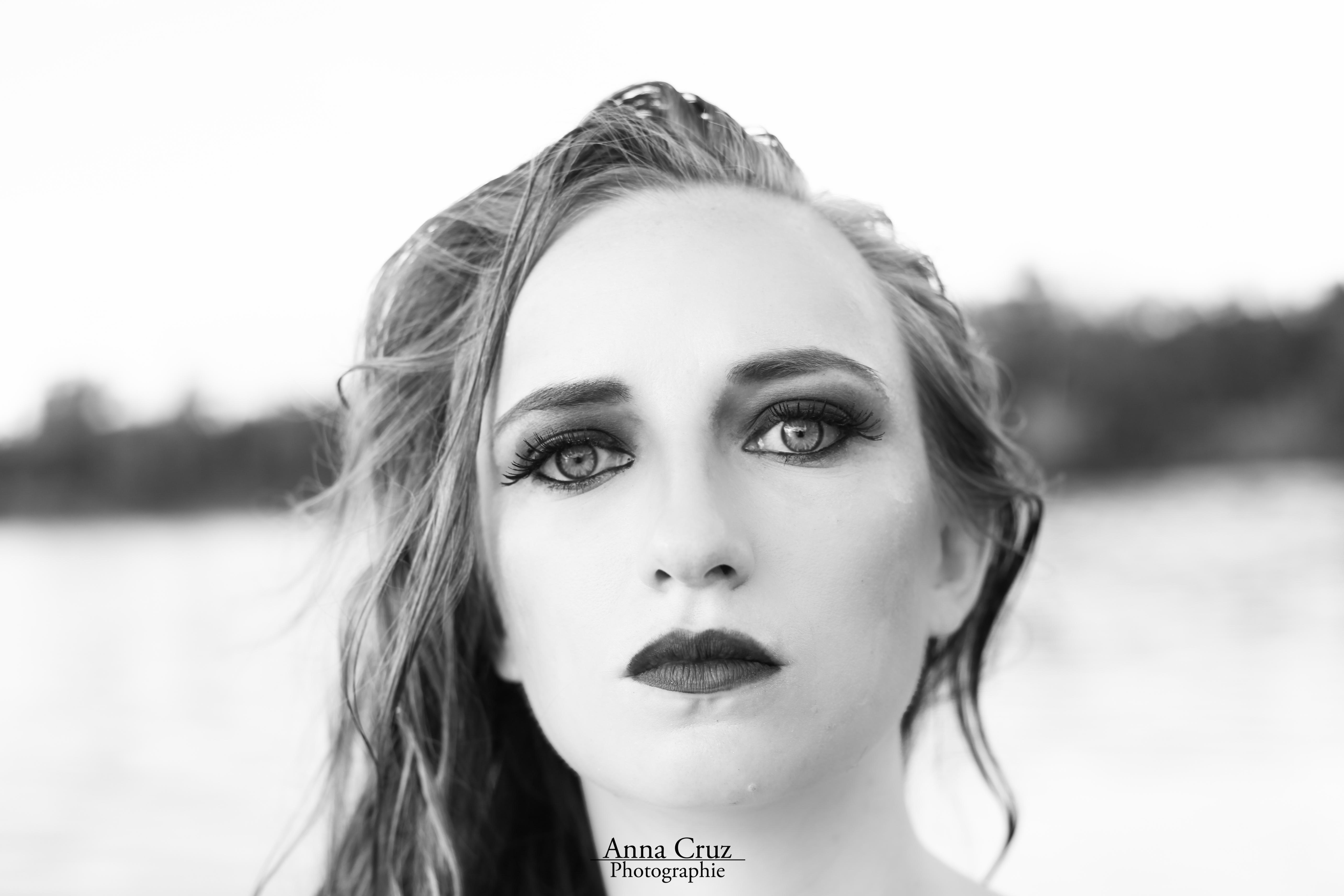 Portrait noir & blanc Anna Cruz0020